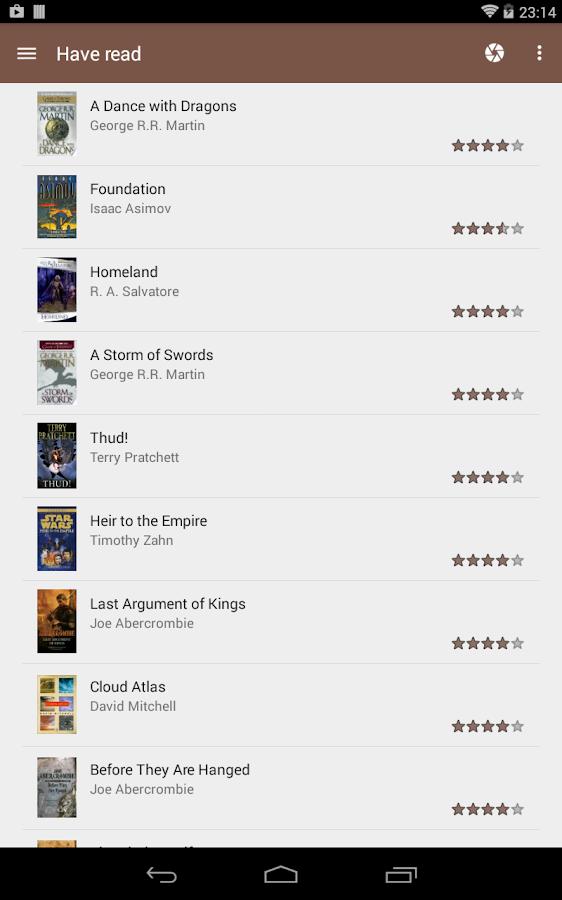 My Library - screenshot