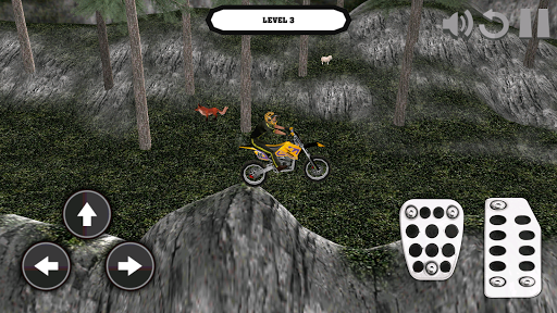 Motocross Bike: 3D Mountains