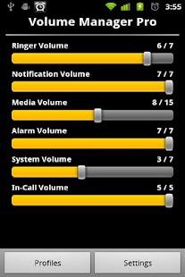 Volume Control Manager PRO - screenshot thumbnail