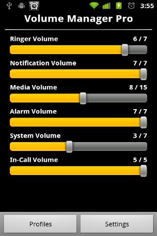 Volume Control Manager PRO - screenshot