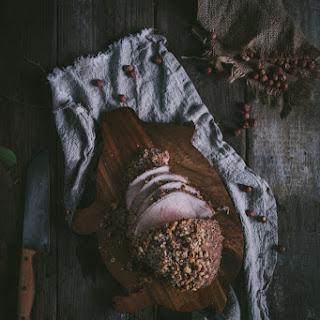Maple & Hazelnut Encrusted Pork Sirloin Tip Roast + A Giveaway
