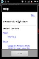 Screenshot of Comete for FlightGear (Beta)