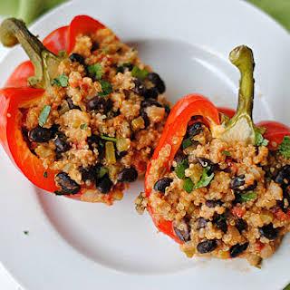 Quinoa Stuffed Bell Peppers.