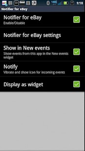 SmartWatch Notifier for eBay- screenshot thumbnail