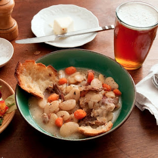Ham Hock & Lima Bean Stew.
