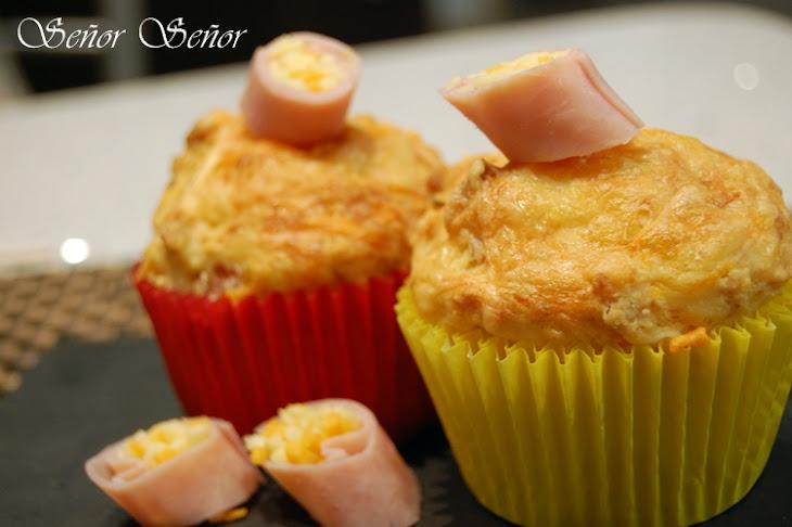 Savory Ham and Cheese Muffins Recipe