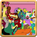 The Simpsons Harlem Shake LWP icon