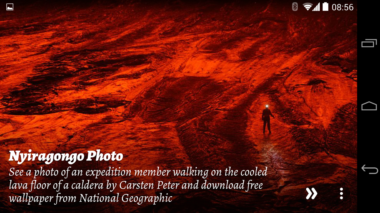 National Geographic Muzei - screenshot