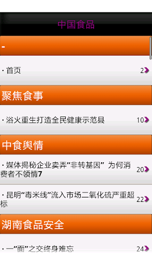 中国食品 玩新聞App免費 玩APPs
