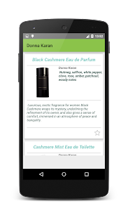 Perfume -catalog EN - screenshot thumbnail
