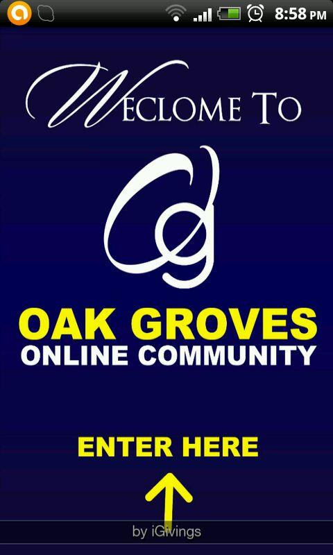 Oak Grove Baptist Church - screenshot