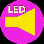 Flash LED Lady
