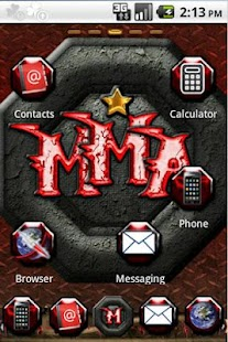 MMA Go Launcher - screenshot thumbnail