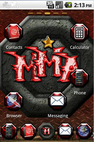 MMA Go Launcher - screenshot