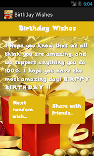 Birthday wishes apps on google play screenshot image m4hsunfo