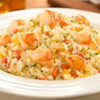Savory Shrimp Risotto.
