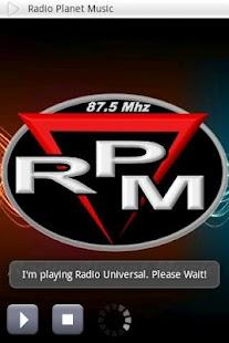 RPM - Radio Planet Music- screenshot thumbnail