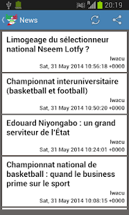 Burundi Newspapers - screenshot thumbnail