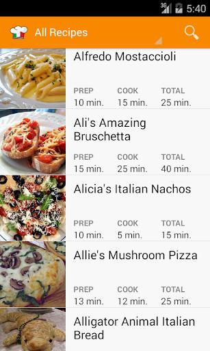 Italian Recipes