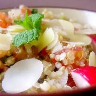 Tomato Mint Quinoa Salad.