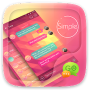 (FREE) GO SMS SIMPLE THEME 3.3.1 Icon