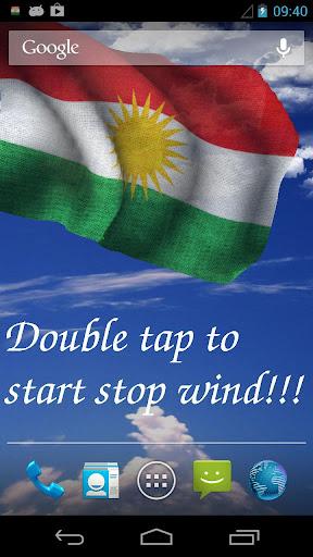 3D Kurdistan Flag LWP +