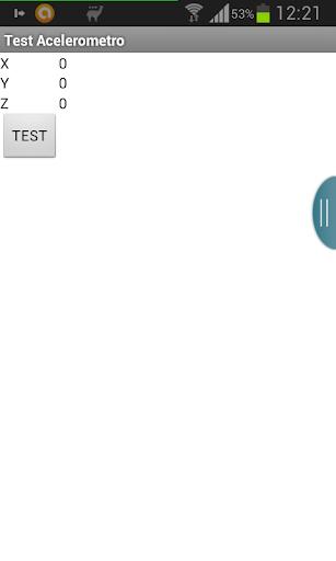 Test Acelerometro