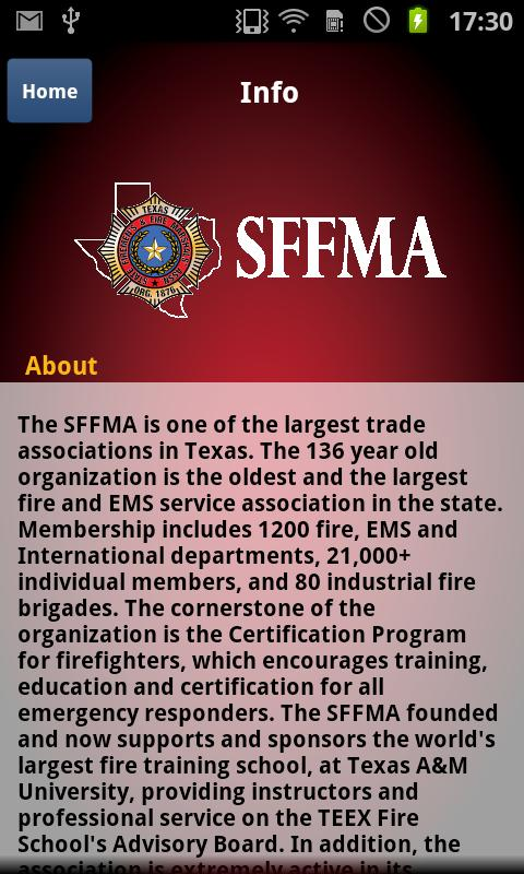 SFFMA- screenshot