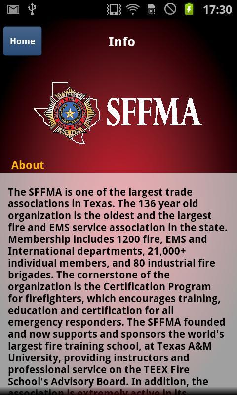 SFFMA - screenshot