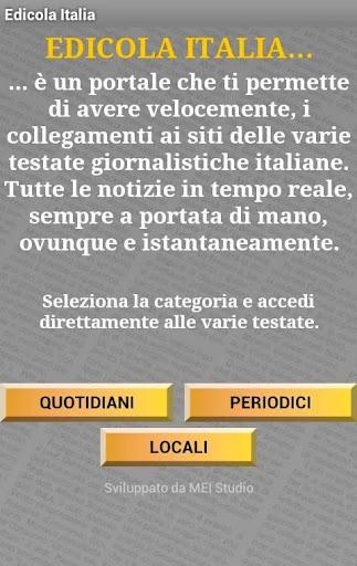 Edicola Italia