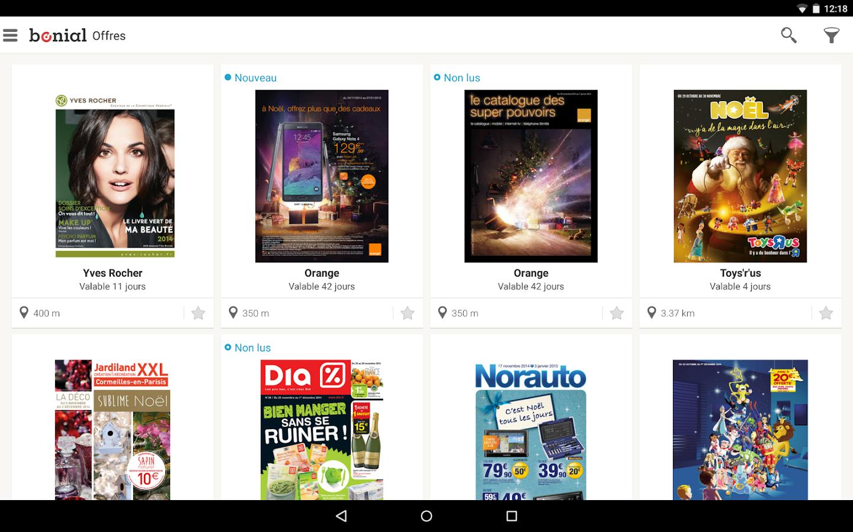Bonial - Promos & Catalogues - screenshot