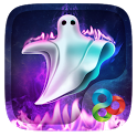 Ghost Fire GO Launcher Theme icon