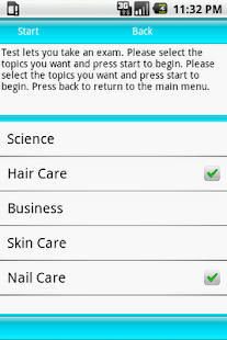 Test Review Cosmetology - screenshot thumbnail