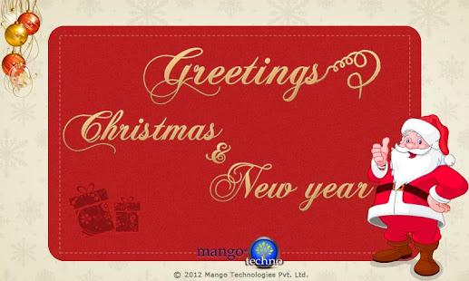 Greetings xmas and new year apps on google play screenshot image reheart Choice Image