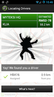 MyTeksi: Book a Taxi - screenshot thumbnail