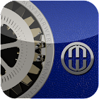bleu GO Launcher EX icon