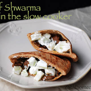 Beef Shwarma in the Slow Cooker.