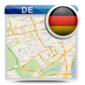 Germany Offline Road Map Guide icon