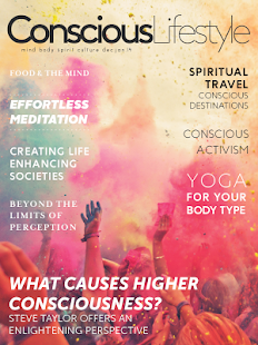 Conscious Lifestyle Magazine- screenshot thumbnail