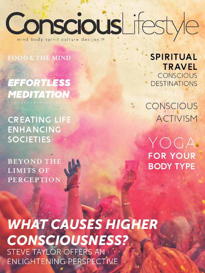 Conscious Lifestyle Magazine- screenshot