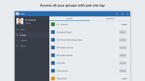Edmodo- screenshot thumbnail
