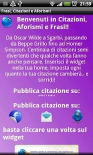 Frasi, Citazioni Aforismi - screenshot thumbnail