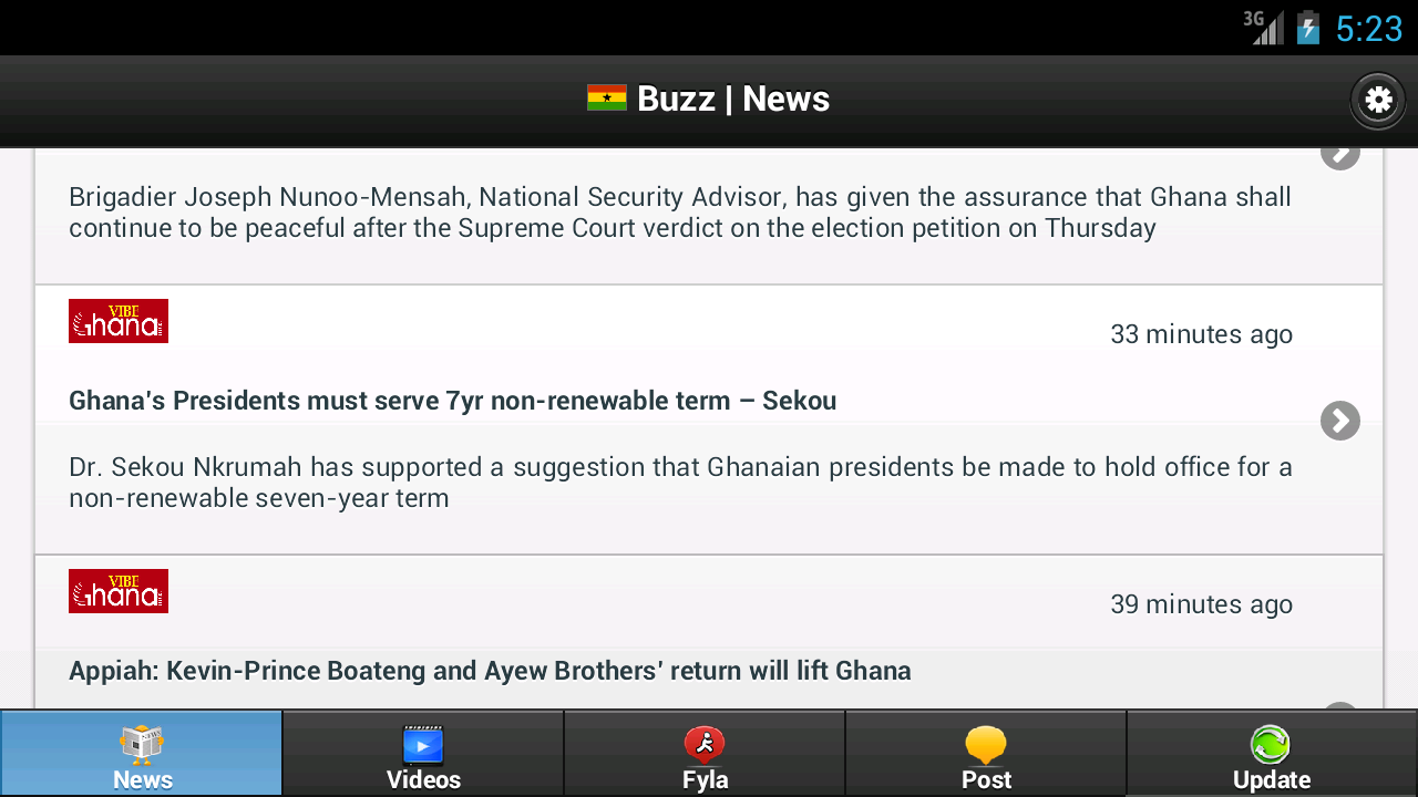 Ghana Buzz- screenshot