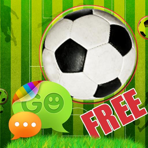 足球的主题为GO短信 個人化 App LOGO-APP試玩