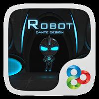 Robot GO Launcher Theme v1.0