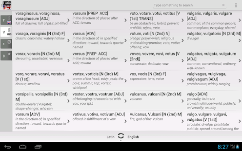 Dictionary Latin English- screenshot thumbnail