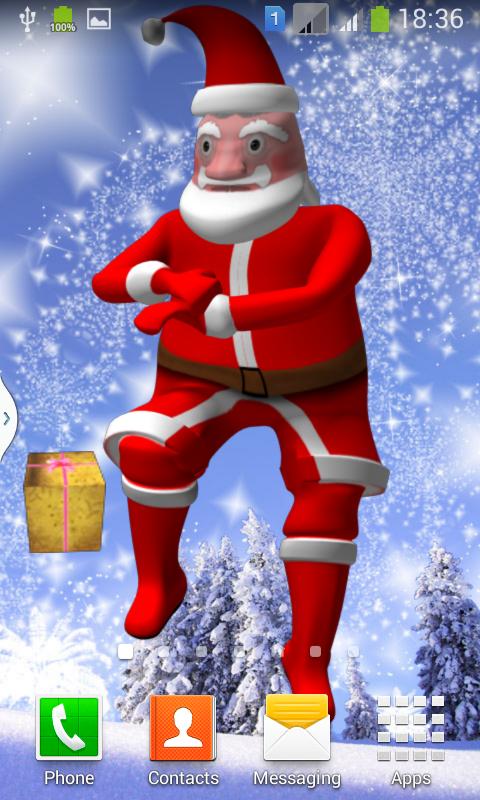 Dance Santa Claus Gangam Style- screenshot