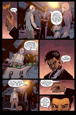 Black Scorpion #1 - screenshot