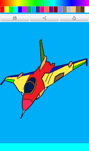 Coloring Book Aircraft