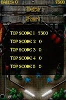 Screenshot of Arkham Pinball